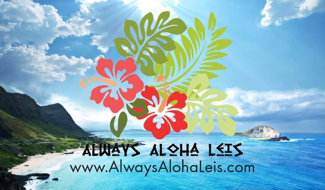 Always Aloha Leis Business Cards