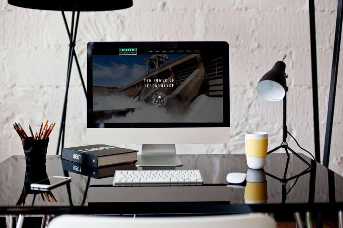 Olsson Industrial Electric Website