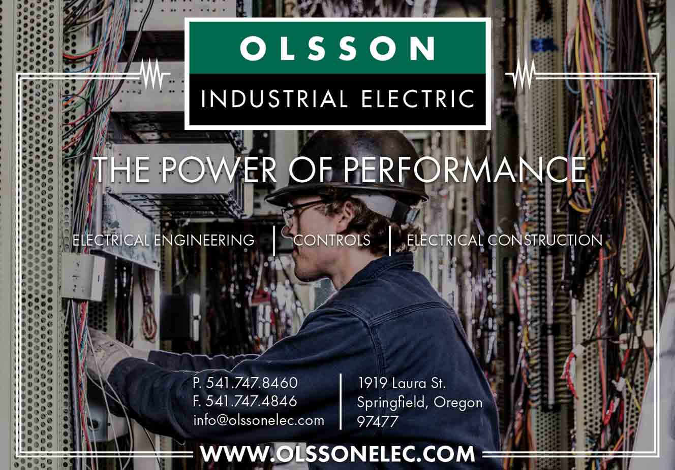 Olsson Industrial Electric Ads