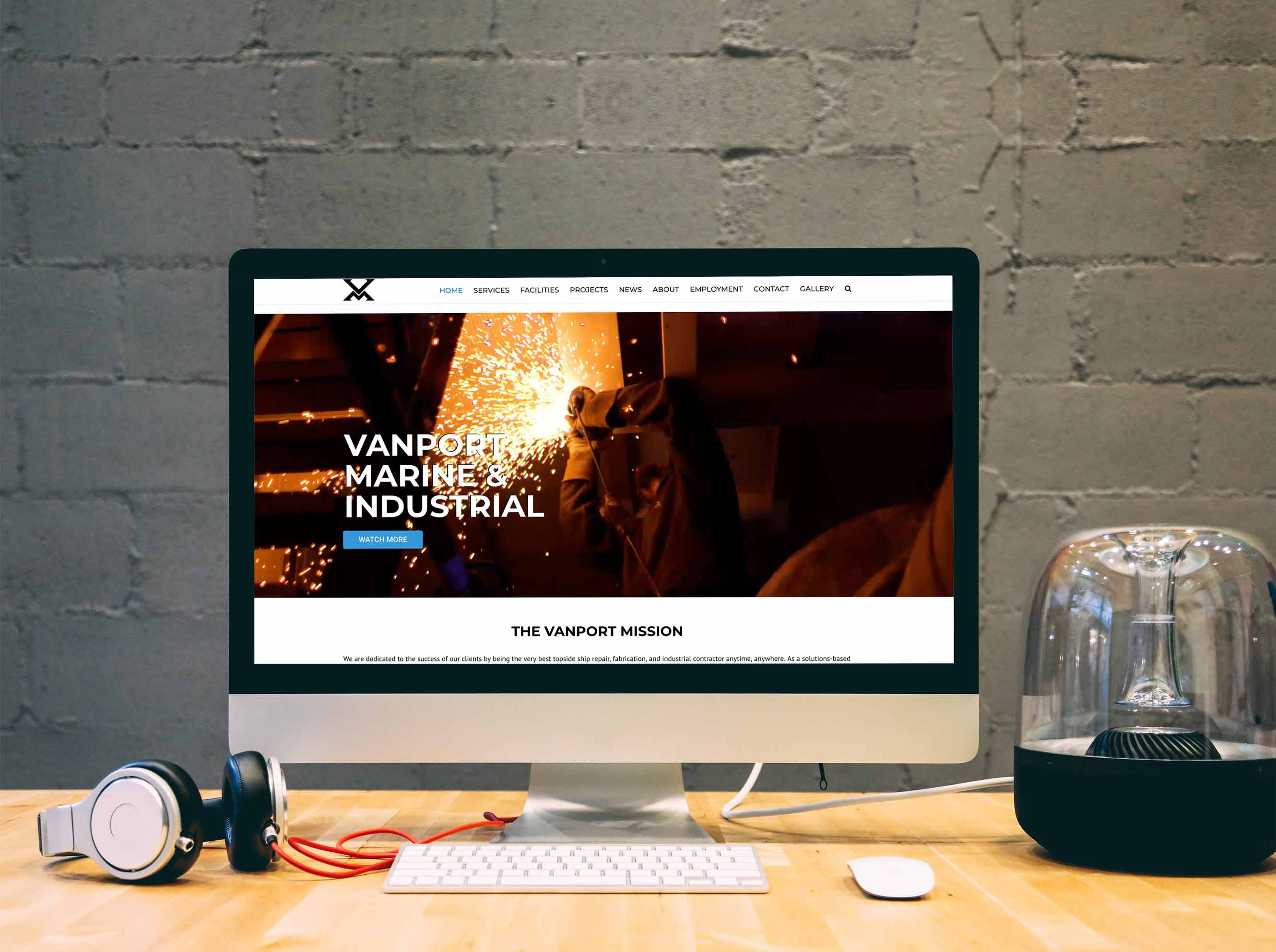 Vanport Industrial Website
