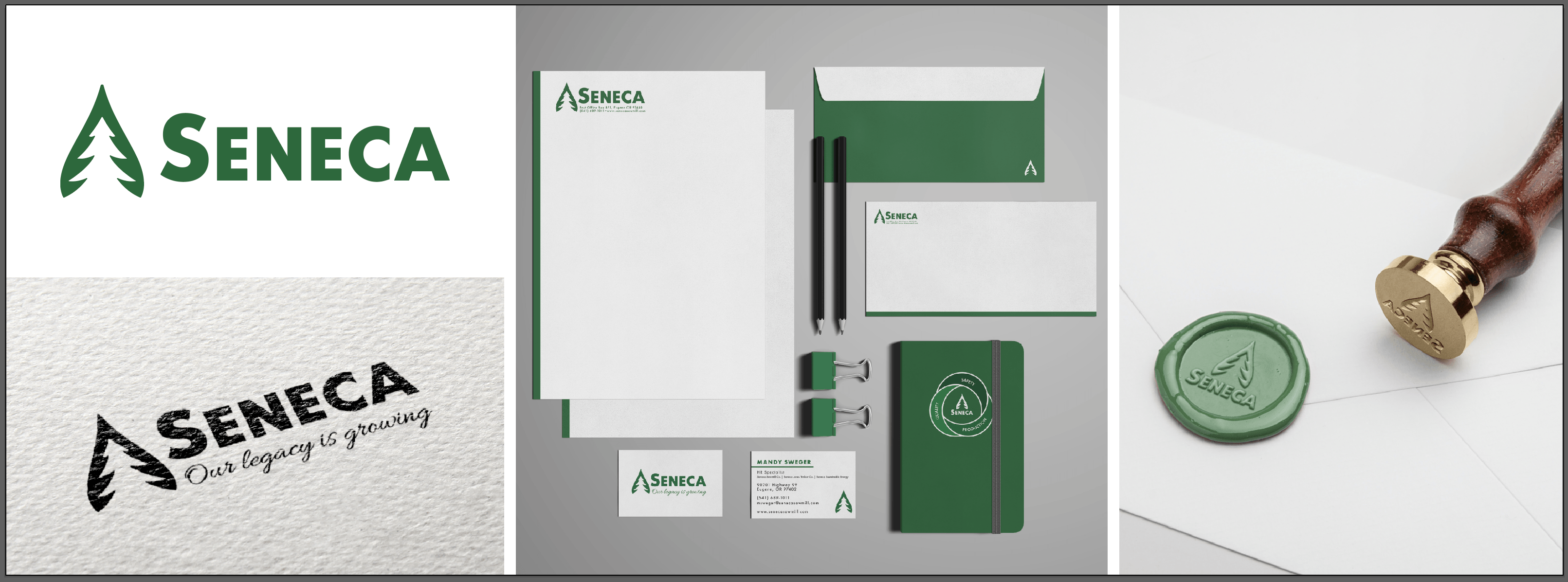 Case Study: Seneca Rebrand